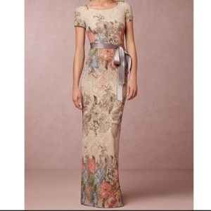 🆕 ADRIANNA PAPELL floral dress gown- size 8